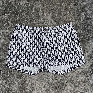 Old Navy Seahorse print chino shorts size 10